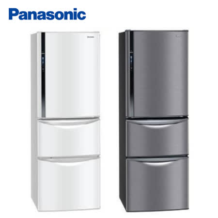 Panasonic 國際牌385公升智慧節能變頻三門冰箱NR-C387HV