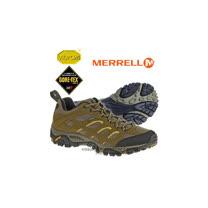 【美國 MERRELL】男新款 Moab GORE-TEX 多功能登山健走鞋_棕 21461