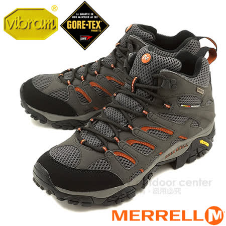 【美國 MERRELL】 男中筒新款 Moab Mid Gore-Tex Xcr 100%防水透氣專業健行.登山鞋_87313