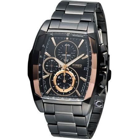 ALBA 雅柏 創意潮流精裝計時腕錶 7T92-X263K AF8T57X1