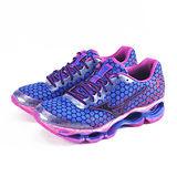(女)MIZUNO美津濃 WAVE PROPHECY 3 慢跑鞋 紫/藍/桃紅-J1GD140002