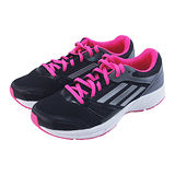 (女)ADIDAS LITE ARROW 2 W 慢跑鞋 黑/桃紅-M25998