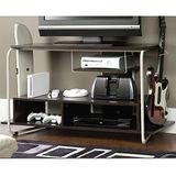 耐用型鐵管雙格收納電視櫃