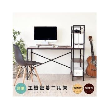 HOPMA 日系層架工作桌(主機板)-三色可選(E-S148PRD /E-S148PNA/E-S148PBR)