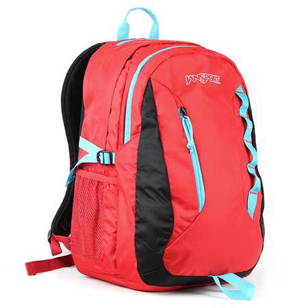 JanSport 電腦背包(AGAVE)-磚紅