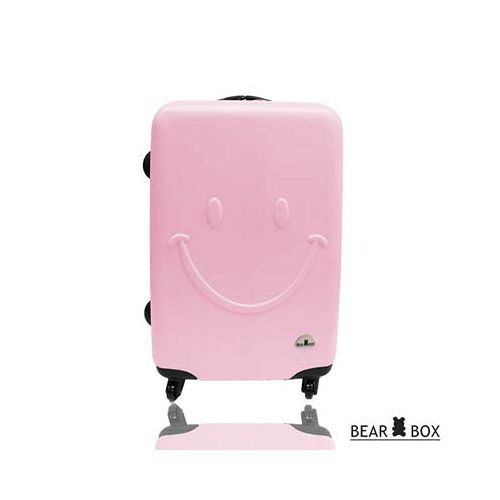 Be愛 買 網 路 購物ar Box 一見你就笑 ★ ABS霧面輕硬殼行李箱-24吋微笑粉