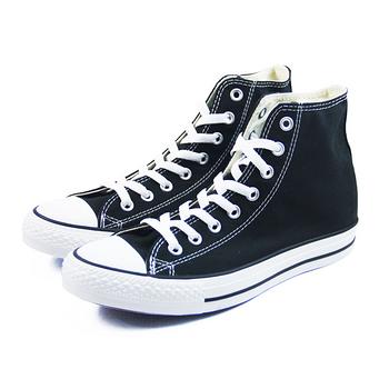 (U系列)CONVERSE  Chuck Taylor All Star 帆布鞋 黑/白-M9160C