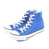 (U系列)CONVERSE Chuck Taylor All Star 帆布鞋 藍-144800C