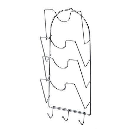 【整齊潔淨】愛家鍍鉻四層鍋蓋架