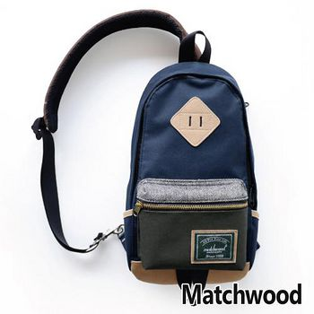 MATCHWOOD Infantry 單肩 背包 腰包 -藍灰