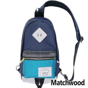 MATCHWOOD Infantry 單肩 背包 腰包 -湖水藍