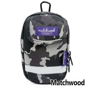 MATCHWOOD Multi Case 手機腰包 掛包 -迷彩黑色