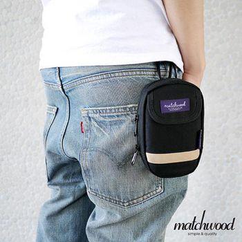MATCHWOOD Multi Case 手機腰包 掛包 -黑色