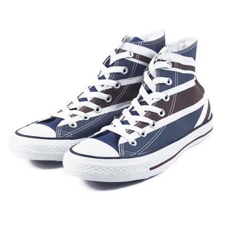 (U系列)CONVERSE Chuck Taylor All Star 帆布鞋 藍/紅/白-138449C