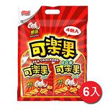 可樂果豌豆酥-原味組合4入*6袋