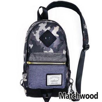 MATCHWOOD Infantry 單肩 背包 腰包 -迷彩黑