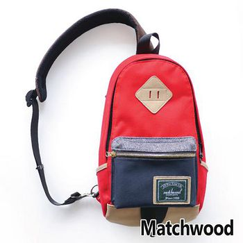 MATCHWOOD Infantry 單肩 背包 腰包 -紅藍