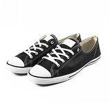 (W系列)CONVERSE Chuck Taylor All Star Fancy 帆布鞋 黑/白-544853C