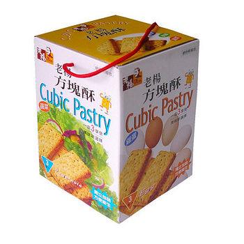 嘉義老楊方塊酥-綜合口味540g