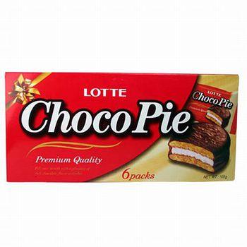 樂天Lotte巧克力派6入