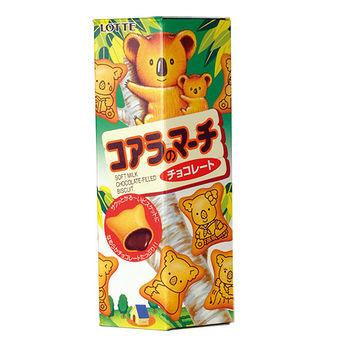 樂天小熊巧克力餅乾37g