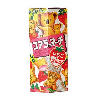 樂天小熊草莓餅乾37g