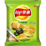 《樂事》洋芋片-九州岩燒海苔43g