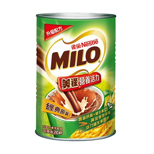 雀巢美祿巧克力麥芽飲品~ 原味500g