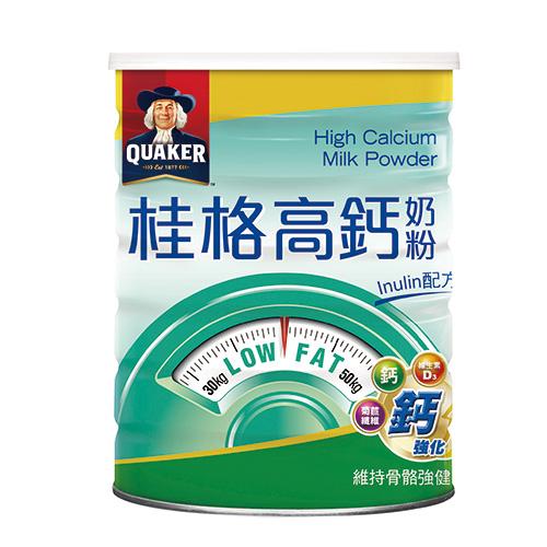 桂格高鈣奶粉Inulin配方1500g