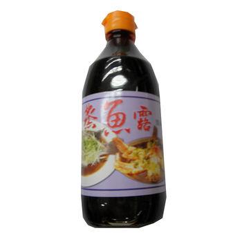 味島蒸魚露醬油400ml