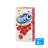 黑松蔓越莓C300ml*6入
