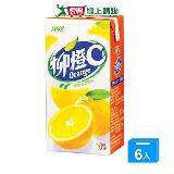 黑松柳橙C300ml*6入