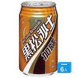 黑松沙士-加鹽易開罐330ml*6入