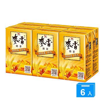 統一麥香奶茶250mlx6入