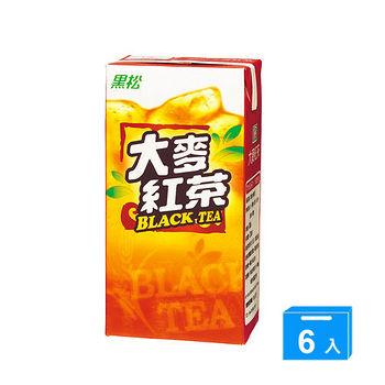 黑松大麥紅茶300ml*6入