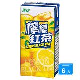 《黑松》檸檬紅茶300ml*6入