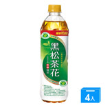《黑松》茶花綠茶580mlx4入