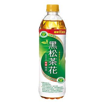 黑松茶花綠茶580mlx4入