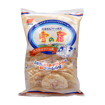 日本三幸北海道奶油雪宿米果124g