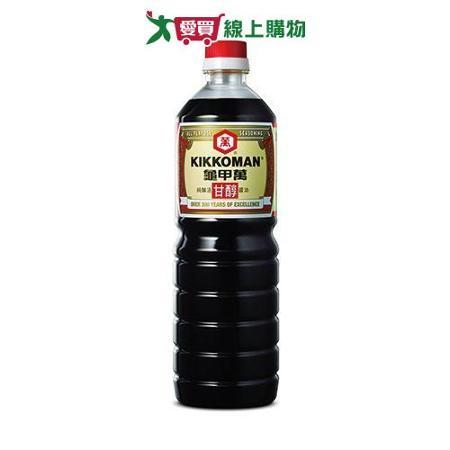 統一龜甲萬甘醇醬油1000ml