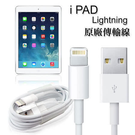 i Pad mini 2 / mini 3 / Air Lightning 8pin 原廠傳輸線 充電線(裸裝)