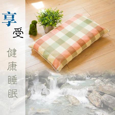 【名流寢飾】MIT-天然溪石淹水石枕-1 入