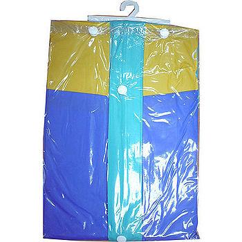 EXTRA前開式PVC雨衣118cm±3%(藍XL)