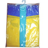 EXTRA前開式PVC雨衣118cm±3%(黃XL)
