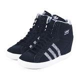 (女)ADIDAS BASKET PROFI UP W 休閒鞋 黑/蛇紋-M20837