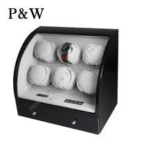 【P&W手錶上鍊盒】 【大錶專用】6+3支裝 電子式LED顯示 動力儲存盒 機械錶專用