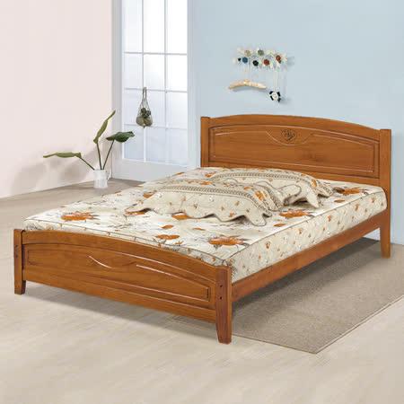 《Homelike》夏爾實木床架組-雙人5尺