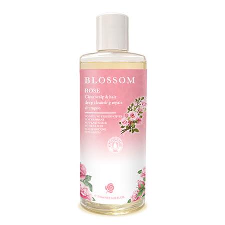 【BLOSSOM】玫瑰植萃修護潤澤養髮精華洗髮精(250ML/瓶)