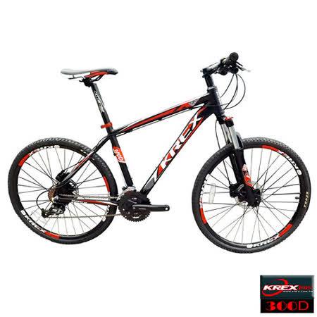 KREX 300D 27段變速登山車-ACERA 碟煞版 消光黑