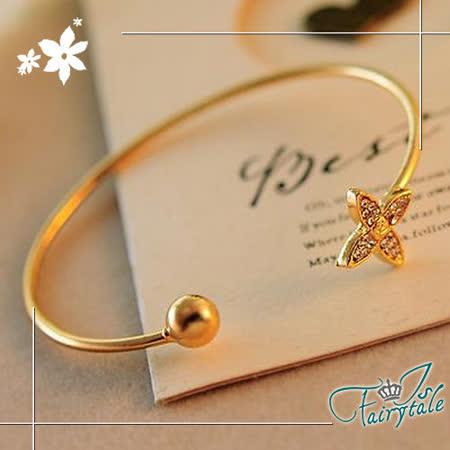 【伊飾童話】四葉花*簡約彈性手環